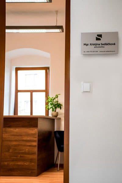 Kancelář - advokát v Olomouci - Mgr. Kristýna Sedláčková